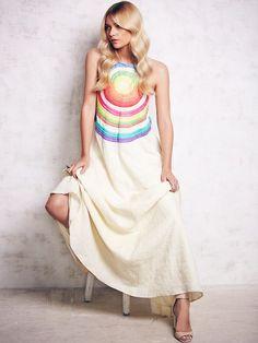 Mara Hoffman Rainbow Maxi