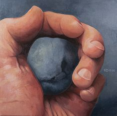 Painting: Rob Donders   Oil on canvas - HAND