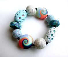 Polymer Bracelet Sea Mix