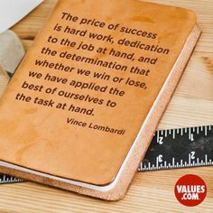 It's about what we learn along the way #dedication #learning www.values.com