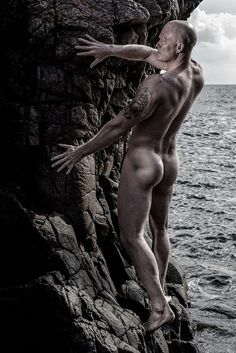 Masculine Shapes On The Rocks by johan rastenberger