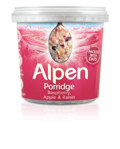 Alpen Porridge Raspberry & Apple Pot Product Information
