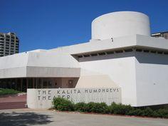 Frank Lloyd Wright Kalita Humphreys Theater on Turtle Creek, Dallas, TX