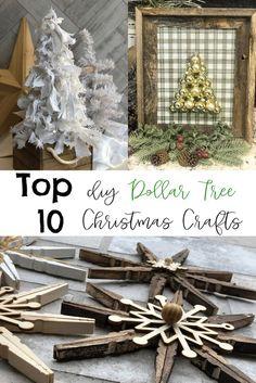Simple Rustic Christmas Ornaments- DIY