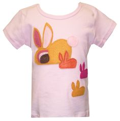 "Decaf Plush ""Bunny & Babies"" Bodysuit or T-Shirt"