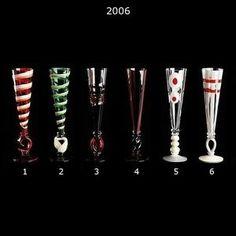 2006 Calici Champagne Glassware By Carlo Moretti - Carlo Moretti - Home Furnishings - Unica Home