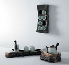 ♡ Tea Set   Po-Ching Fang. Fang's work was featured in the April 2010 issue of Ceramics Monthly. http://ceramicartsdaily.org/ceramics-monthly/ceramics-monthly-april-2010/