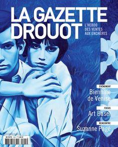 Gazette Drouot N°25, 26/06/2015 #Bleu #Monory #ArtMarket #Magazine #Une