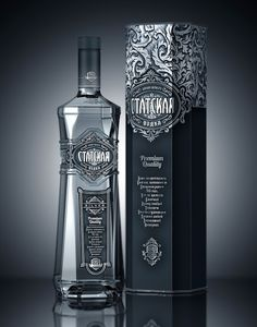 Statskaya Premium Vodka on Packaging of the World - Creative Package Design Gallery