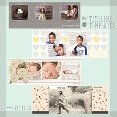 Free Timeline Cover Templates