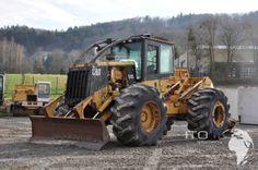 Caterpillar Skidder gebraucht kaufen unter http://www.ito-germany.de/cat-525b-skidder-gebraucht #cat #caterpillar #skidder #traktor #tractor #landmaschinen #baumaschinen #sale #used