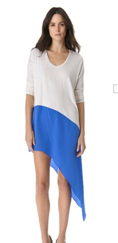 76ef574c78c4 cant wait to buy this dress in black/mint Boutique Mason by Michelle Mason  Asymmetrical Dress