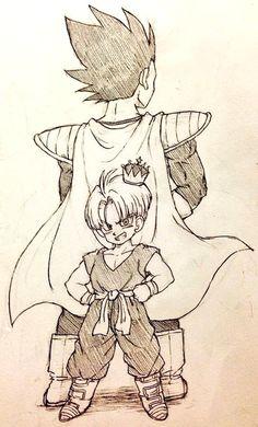 Vegeta & Trunks