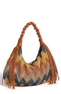 Chevron hobo. i'm in love!