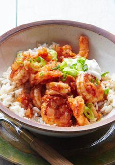 Saucy Shrimp a la Diabla