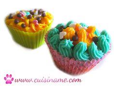 Receta de cupcakes con frosting diertido y original.