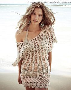 Crochetemoda: Output Beach Crochet