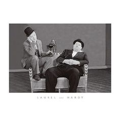 ''Laurel and Hardy'' by Anon Movie & TV Posters Art Print