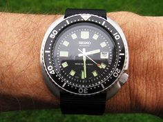 Seiko 6309 7040, modded by Loyswatch