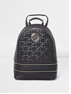 1a245ce45725b river-island-black-oversized-back-pack Backpack Purse, Fashion Backpack