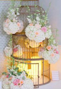 birdcage decor centerpieces