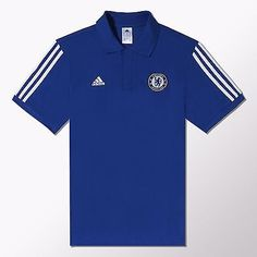 home and away shirts chelsea fc mens adidas current season 201415 polo shirt size s m l xl