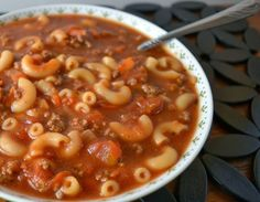 There is nothing like a good tomato soup to warm you up on a cold day. This 30 minutes recipe takes a tomato soup and makes it hardy by adding macaroni and ground beef to it. A person can enjoy everything they love about the tomato soup and now it is more filling. This recipe …