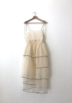 Silk Organza, Organza Dress, Organza Saree, Silk Dress, Silk Slip, Ivory Silk, Pretty Dresses, Ideias Fashion, Dress Up