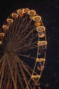 Ferris Wheel at night...