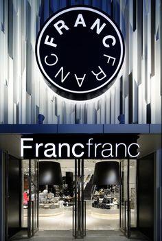 FrancFranc Store in Hakata,JAPAN by Yasumichi Morita
