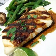 Halibut with Rice Wine - Allrecipes.com
