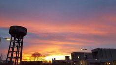 #sunset#hotellibera#soleilcouchant#normandie#caen#colombelles#design