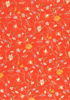 Floral Fancy - Laura Ashley Floribunda Fabric #lauraashley60  Love this vintage fabric pattern!