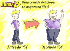 Postagem para página do FSY