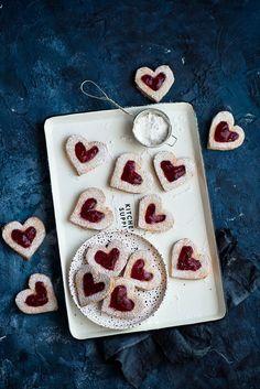 picante-jalapeno.blogspot.com: Ciasteczka w kształcie serc na Walentynki