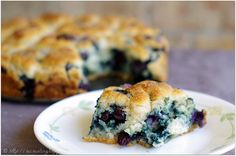 Sweet gluten free biscuits filled with blueberries.  Uses coconut flour & oil.  Worthy of breakfast or dessert.