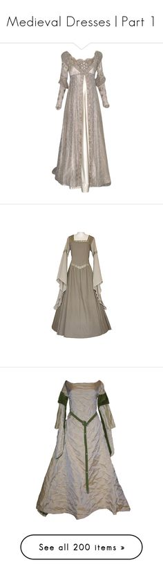 """Medieval Dresses 