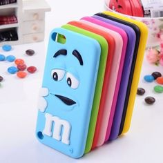 Multiple mnm iPod 5 cases. if only i had an Ipod 5..
