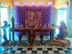 Momento Mágico Decorações : Enrolados rapunzel Rústico -09/03