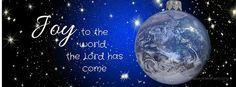 Joy to the World - Christmas facebook cover embeddedfaith.org