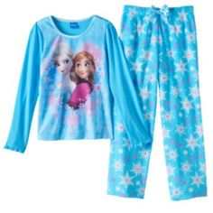 Disney's+Frozen+Elsa+&+Anna+Pajama+Set+-+Girls+4-10