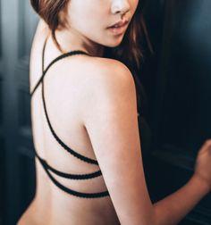 sting back bra #black#sexyback#속옷디자인#스트링#브라