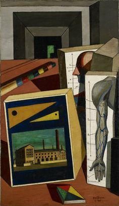 Giorgio de Chirico: The Scholar's Playthings (1917)