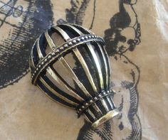 Hot air Balloon Steampunk Craft Balloon by FlauntingCharms on Etsy, $0.68