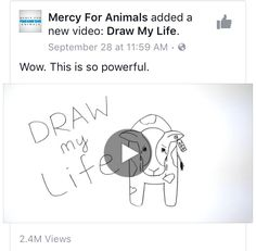 On September 30th, I came across this powerful video on my Facebook feed. It illustrated how cows are gravely mistreated when humans attempt to extract their milk. These cows are involuntarily impregnated, have had their children taken away from them, have given more milk than what is healthy for them to offer, and they live in one, restricting stall the majority of their lives. From now on, I will make the effort to find out where the milk I purchase comes from. These cows deserve…