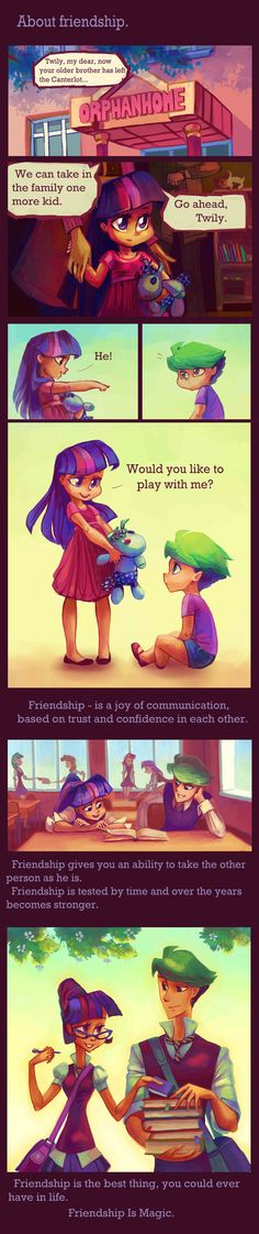 I dont know who this is. But its a cute story. Twily and Spike.ENG by Holivi.deviantart.com on @deviantART