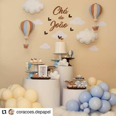 Boy Baby Shower Themes, Baby Boy Shower, Baby Birthday, Birthday Parties, Birthday Cakes, Baby Tea, Christening Decorations, Baby Party, Baby Decor