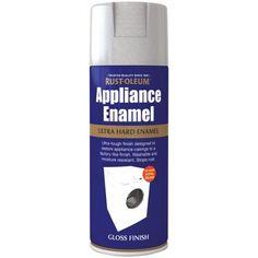 Rust-Oleum Appliance Spray Paint - Steel - 400ml