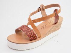 Leder Sandalen Handarbeit aus Kreta Griechenland