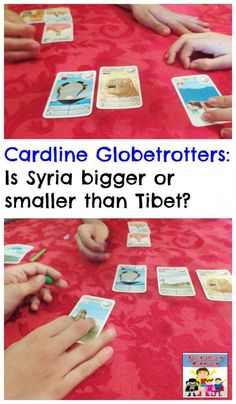 Cardline Globetrotters great game for geography